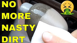 Cleaning filthy car interior for vinyl, rubber door panels & dashboards