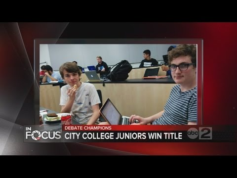 Baltimore City College High School Wins National  Debate Championship