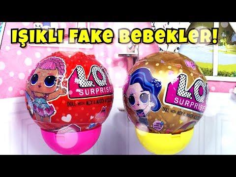 Işıklı Fake LOL Bebeği Açtım - Bu Nasıl Yumurta ?