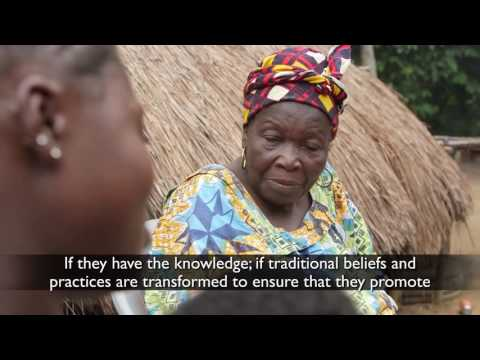 Empowering Grandmothers to improve nutrition: World Vision Mamanieva Project in Sierra Leone