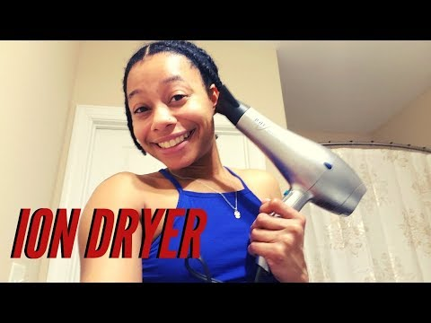 Ion Ionic Conditioning Hair Dryer Unboxing