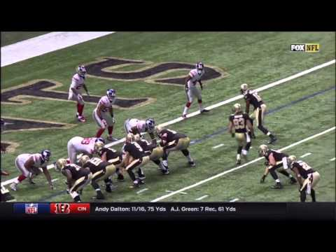 Saints vs Giants 2015