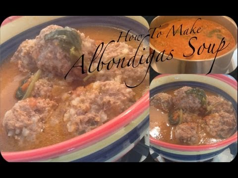 Albondigas Soup Authentic Mexican Recipe From Mexico(Meatball Soup)