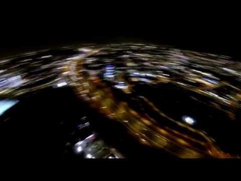 Drone Media, SKYLNE ROTTERDAM BY NIGHT