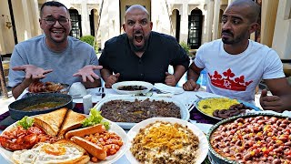 تحدي الفطور باحكام 🍽 Breakfast Challenge with Dares