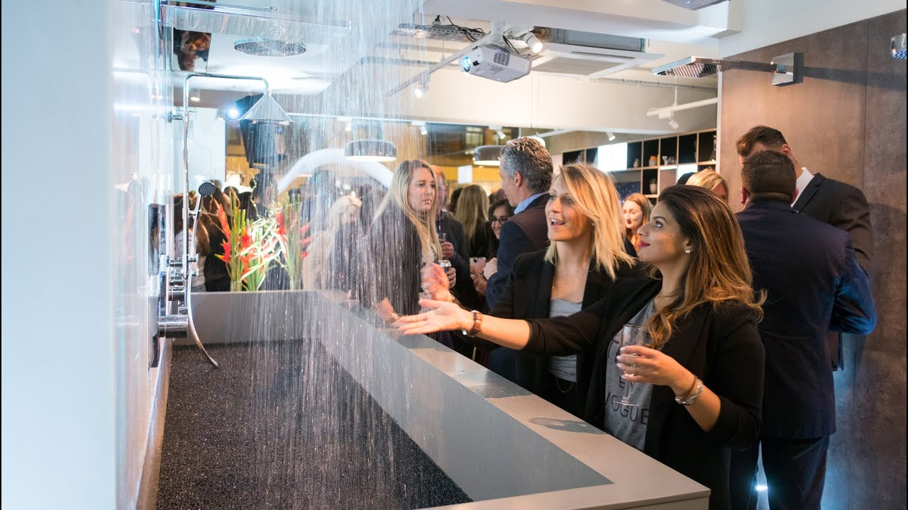 Hansgrohe opens The Water Studio in Clerkenwell - YouTube