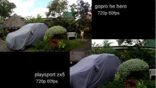 gopro hd hero vs kodak playsport zx5