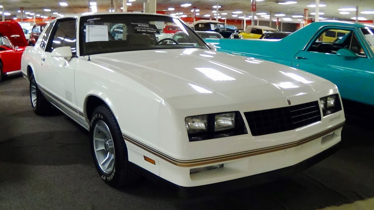 All Chevy 1988 chevrolet monte carlo ss for sale : 1988 Chevrolet Monte Carlo SS 24,xxx Original Miles - YouTube