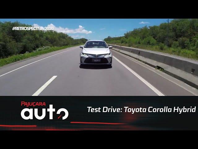 Retrospectiva 2020: Reveja o test drive do Toyota Corolla Hybrid