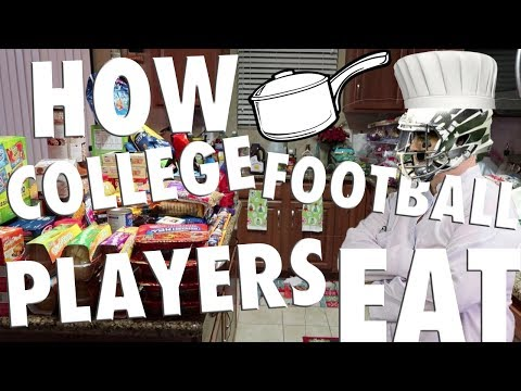 How College Football Players Eat