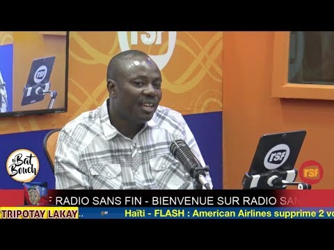 Moise Jean Charles LIVE sou RSF nan emisyon Ti Bat Bouch
