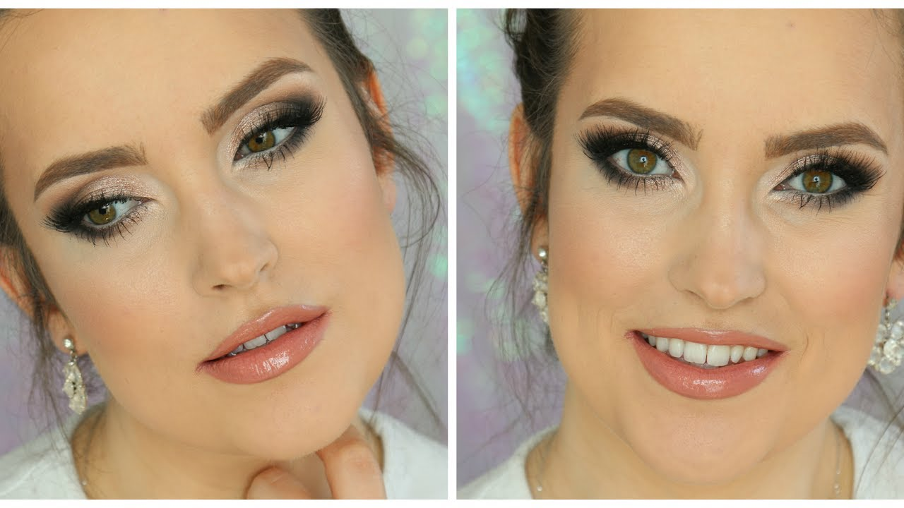 Klasyczny Makijaż ślubny Wykonany Kosmetytkami Drogeryjnymi Masa