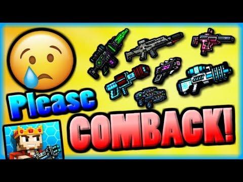 Top 5 Weapons We MISS in Pixel Gun 3D! (15.0.1)