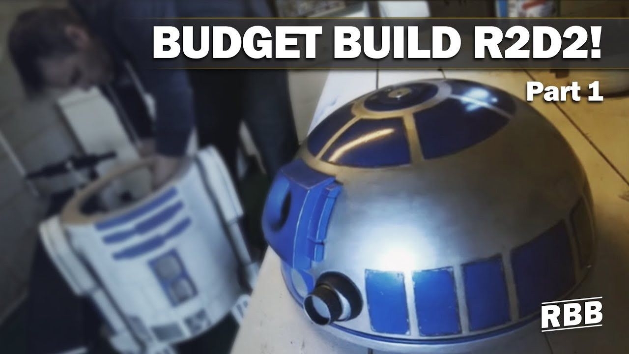 Build Your Own R2D2 on a budget  YouTube