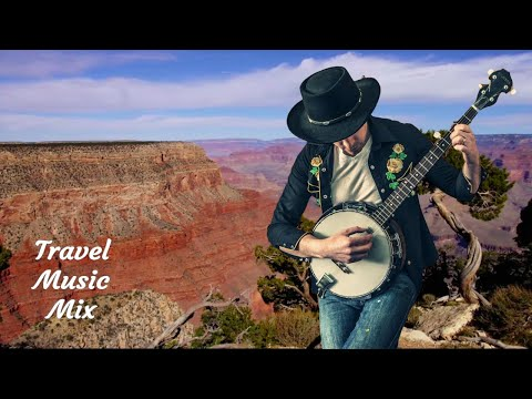 Country Folk Instrumental Music Mix - 30 minutes - Canyon Country Tour