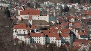 Das Hohe Schloss in Füssen im Allgäu