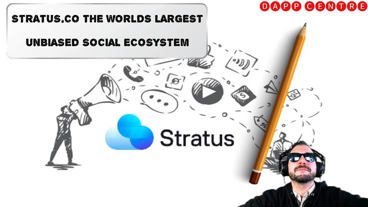 STRATUS.CO THE WORLD'S LARGEST UNBIASED SOCIAL ECOSYSTEM!