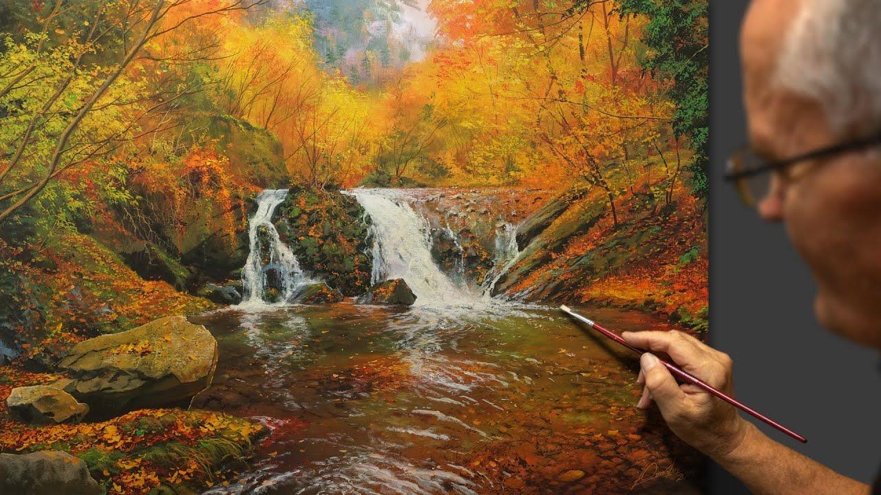 Breath Of Autumn Autumn Landscape Artist Victor Yushkevich