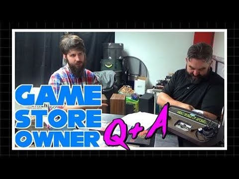 Ten Questions Answered by a Game Store Owner