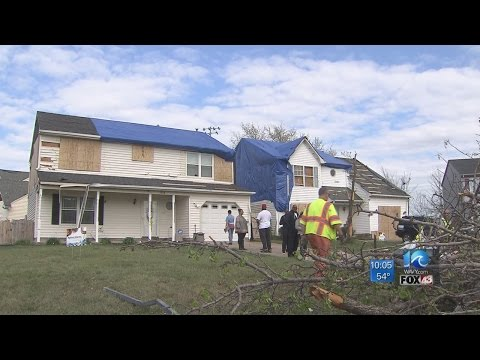 12 homes condemned from tornado damage in Virginia Beach