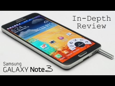 Samsung Galaxy Note 3 Full Review