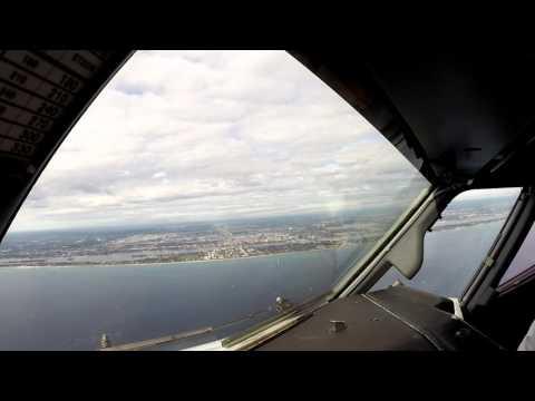 Palm Beach - PBI (Boeing 737 Cockpit View)