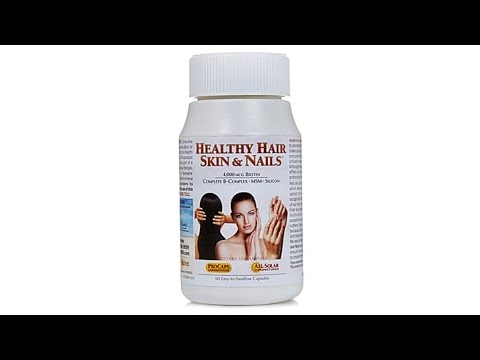 Healthy Hair, Skin   Nails  60 Capsules
