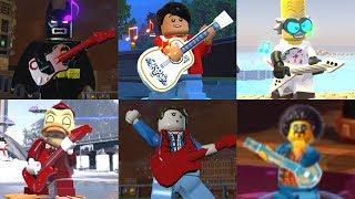 All Guitarists in Lego Videogames! (2005 - 2018)
