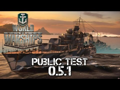 World of Warships Public Test 0.5.1
