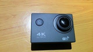 Від F60 4K ультра 15фпс якості HD WiFi Спорт дій камери Розпакування