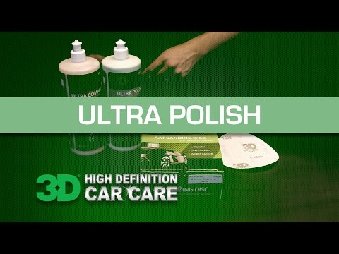 3D Products Ultra Polish