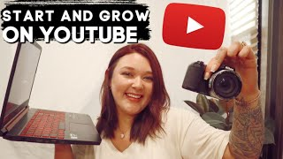 YOUTUBE Q & A: HOW TO GROW AND START A YOUTUBE CHANNEL!!