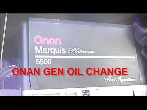 How to Replace the Fuel Pump and Fuel Filter on an Onan Model 5500