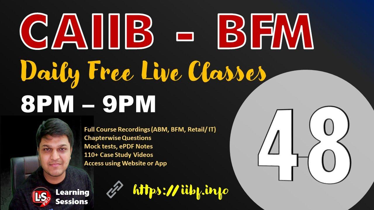 Balance Sheet Management Class 48 | CAIIB BFM Module D | Free Live Class Bank Financial Management
