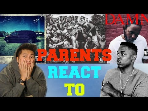 PARENTS FIRST REACTION TO KENDRICK LAMAR | SWIMMING POOLS | ALRIGHT | DNA MUSIC VIDEO