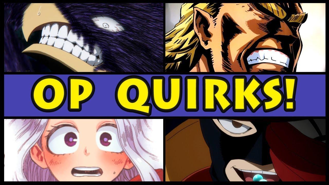 Top 10 OVERPOWERED Quirks in My Hero Academia! (Boku no Hero Academia Most  OP Quirk / Season 3 / S3)