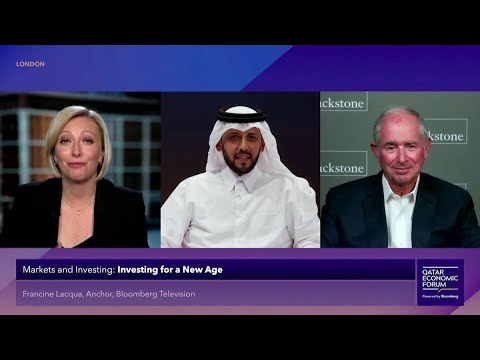 Qatar Investment Authority CEO, Blackstone's Schwarzman on Investing for New Age