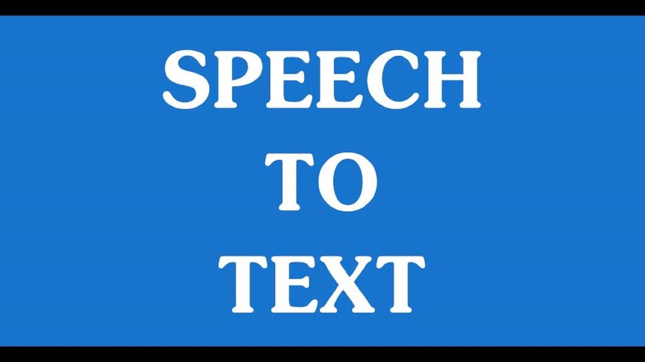 Hindi Speech to Text - Text to Speech Hindi