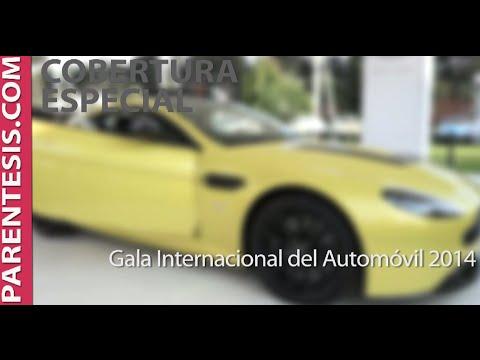 Gala Internacional del Automóvil 2014