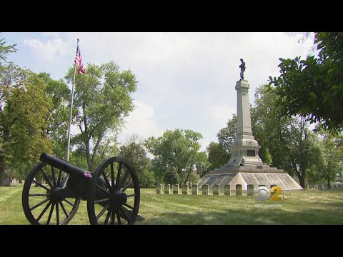 Confederate Mound: Tribute To Rebel Soldiers