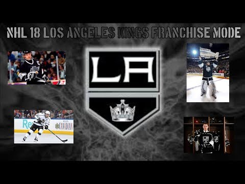 NHL 18 LOS ANGELES KINGS FRANCHISE MODE EPISODE 13: PLAYOFFS + OFFSEASON!