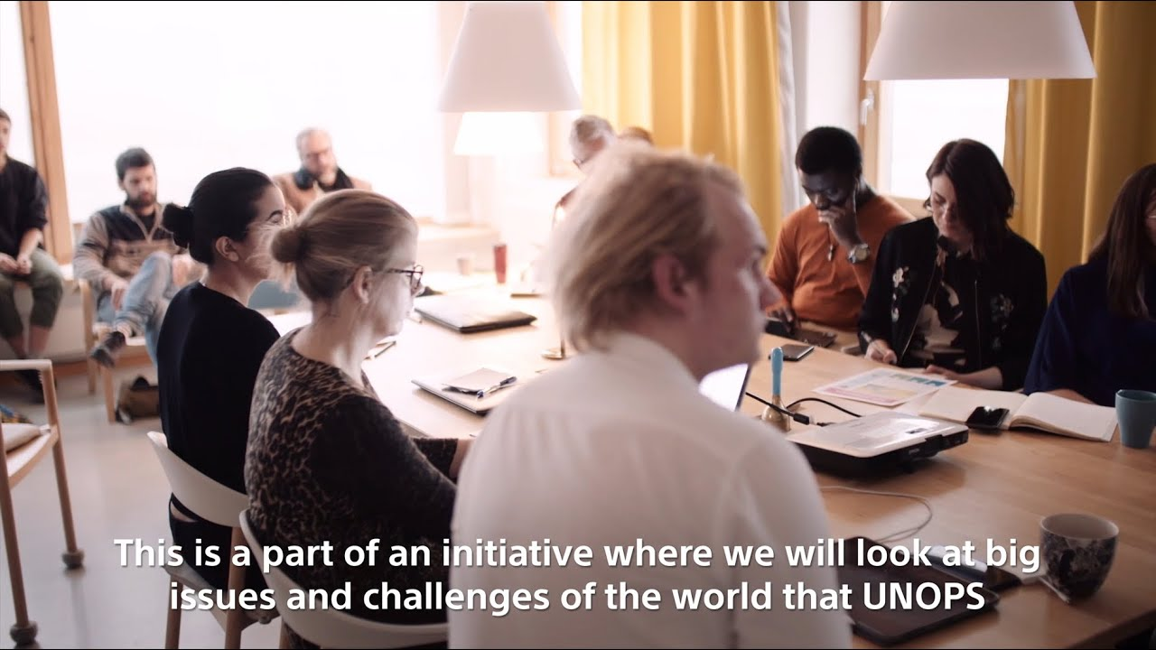 Service Design Master's Course with UNOPS