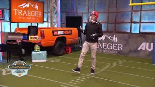 Bringing Heat!! Kyler Murray Throws Football Fastballs to McLovin | The Dan Patrick Show | 2/1/19