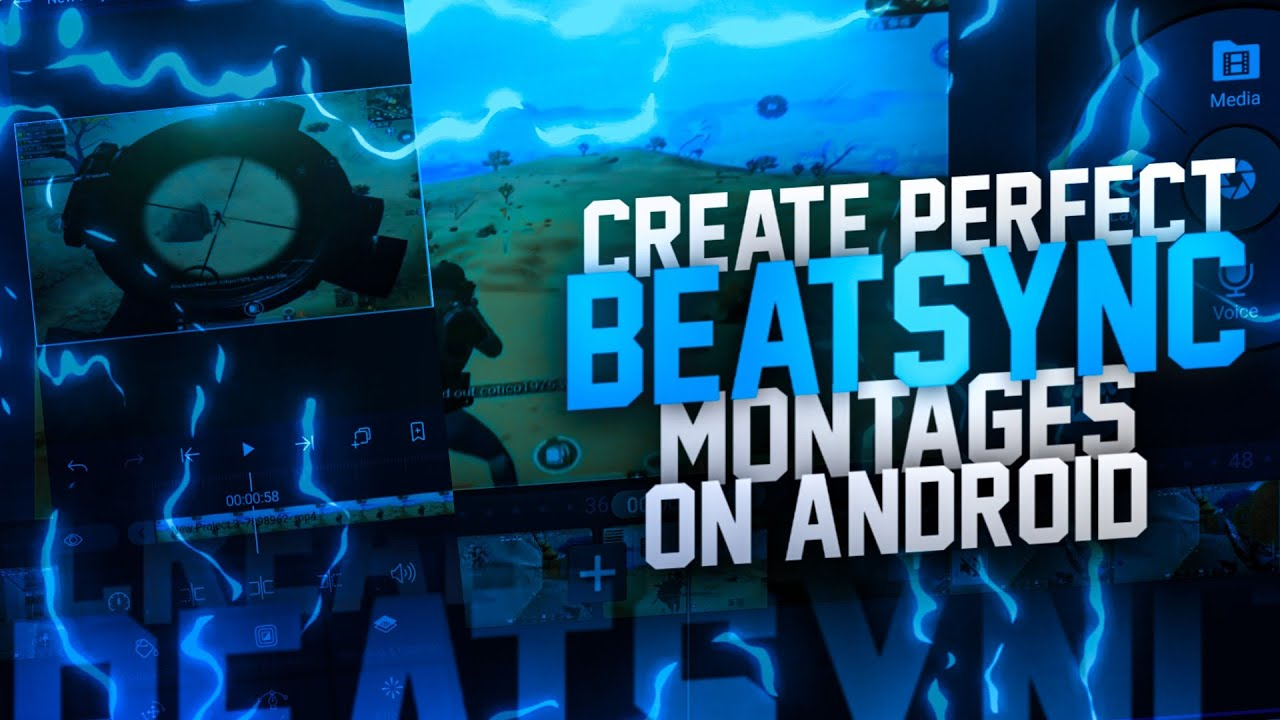 Create perfectly beatsynced PUBG montages on android | Alight motion shake presets | ft stexz