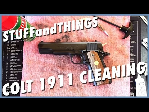 1911 CLEANING -  Colt's MK IV Series 70 Government Model