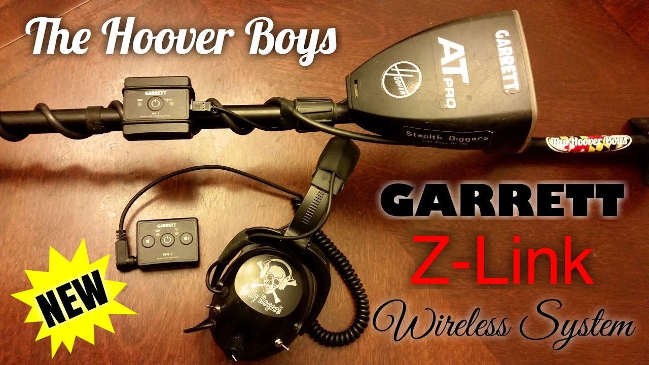 Garrett Z-Link Univeral Wireless Headphones System - Metal Detecting AT Pro  AT Gold