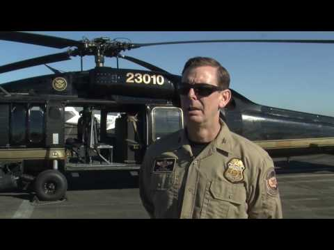 CBP Interview with Supervisory Air Interdiction Agent Chad Bull