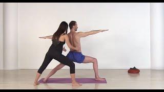 Укрепление позвоночника и выравнивание тела в традиции Аштанга-виньяса йоги.