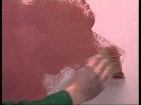 ... - come applicare la pittura decorativa per interni OIKOS - YouTube