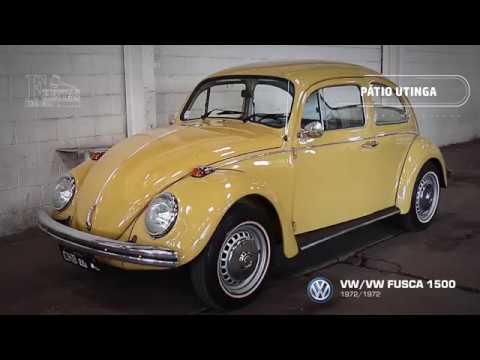 VW/VW FUSCA 1500, 72/72 - YouTube
